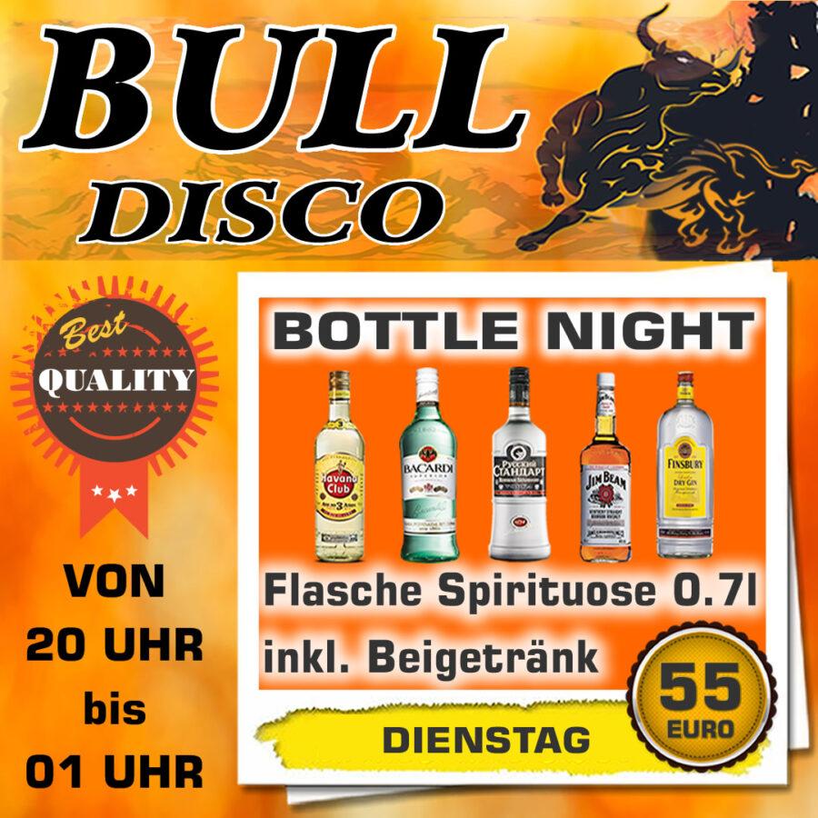 Dienstag im Bull